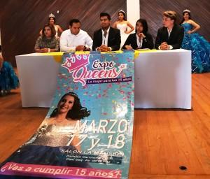 """PRESENTAN LA """"EXPO QUEENS"""" EVENTO ESPECIAL PARA LAS QUINCEAÑERAS."""